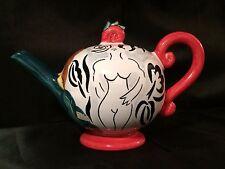 Grazia Deruta Italian Hand painted Teapot - STUNNING!