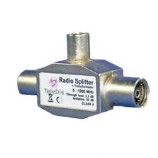 Distributore Antenna Radio Splitter+TRASFORMATORE SWITCH 5-1000Mhz MHz NUOVO