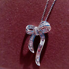 Fashion Jewelry Cubic Zirconia 925 Silver Necklaces Pendants Anniversary Gifts