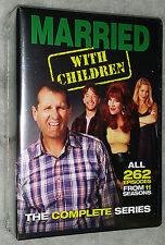 Casado con Niños: La Completa Series - 21 DVD Box Set - NUEVO Y SIN ABRIR