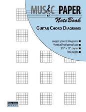 Music Paper Notebook - Guitar Chord Diagrams by Ashkan Mashhour (2012,...