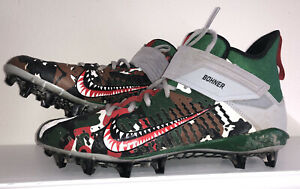 RARE Nike Custom Warhawk Air Force Bomber 90 Air Max Cleats Mens Size 11 Camo