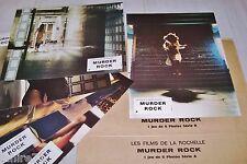 lucio fulci MURDER ROCK  ! jeu photos cinema lobby card
