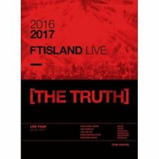 FT Island-[The Truth] 2016-2017 FT Island Live DVD 2Disk+40p Photobook Sealed