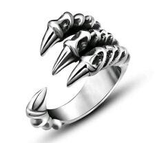 Dragon Claw Ring Heavy Metal Punk Rock Motorcycle Retro Vintage Gift Present