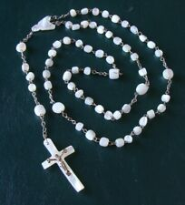 Vintage Mother of Pearl Rosary MOP