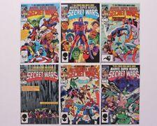 Marvel Super Heroes Secret Wars 1-6  Marvel Comics 1984