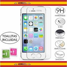 Lamina de Cristal Templado Protector Pantalla para iPhone 5 5S 5C Screen Glass