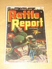 BATTLE REPORT #5 G (2.0) AJAX COMICS APRIL 1953