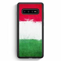 Italien Grunge Italy Italia Samsung Galaxy S10 Silikon Hülle Motiv Design Cov...