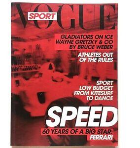Sport L'uomo Vogue n. 382 luglio agosto 2007 Ferrari story  Wayne Gretzky Speed