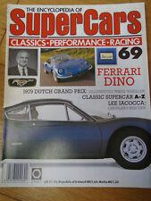 Encyclopedia of Super Cars 69 Ferrari Dino, Lee Iacocco, 1979 Dutch GP