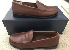 New Brooks Brothers Brown Penny Loafers Size 8.5 D
