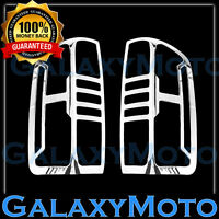 15-16 GMC Canyon Pickup Triple Chrome plated Taillight Trim Cover Bezel 2016