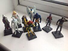 Eaglemoss Classic Marvel figurine collection 9 metal X-men figures