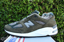 NEW BALANCE 990 SZ 8 AGE OF EXPLORATION OLIVE GREY MADE IN USA M990DSU2