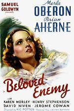 "16mm Feature Film ""Beloved Enemy"" 1936"