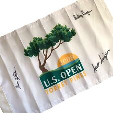 COURSE USED 2008 US Open Torrey Pines Golf Pin Flag *Tiger Woods Win