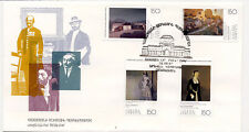 Armenia 1995 First Day Cover Famous Paintings Art #553-56 National Gallery Cache