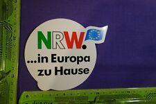 Alter Aufkleber NRW ...in Europa zu Hause