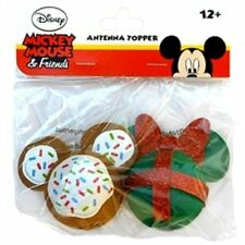 Christmas Cookie Mickey & Christmas Gift Minne Mouse Antenna Toppers