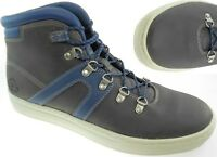 Timberland Mens Dauset Cup Hiker Hiking Gray Leather Chukka Boots Shoes A1OJQ US