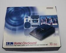Dynatech 3S Home CineSound AV-150,  Around sound from your TV