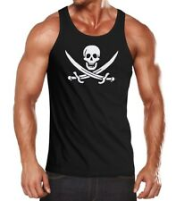 Señores manga pirata Skull Jolly Roger Calico carnaval fun-shirt moonworks ®