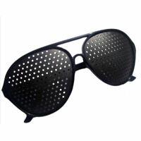 Neu Nadelöhr Brille Raster Lochbrille Pinhole Glass D7V2 Augentrain Rasterb Q5S0