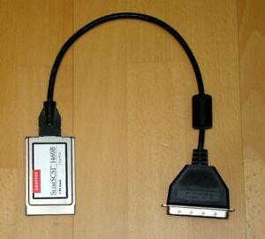 SCSI zu PCMCIA PC-Card Adapter Konverter für Notebook Laptop Adaptec 1460B