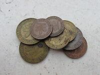 Germania - Lotto di 8 monete da 1/2/5 e 10 Pfennig varie Zecche e date - n 1048