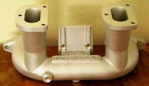 Tattersfield Ford Model A Dual Twin Throat Carburetor Intake Manifold Hot Rod