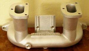 Tattersfield Ford Model A Dual Twin Throat Carburetor Intake Manifold Hot Rod