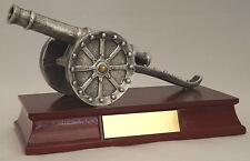 Fußball-Trophäe, ca. 21,0 cm lang Torjägerkanone Wander-Pokal  Gravur  Pokale