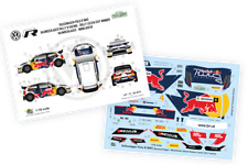 [FFSMC Productions] Decals 1/18 VW Polo R WRC  Skoda Rallye Liezen 2017 winner