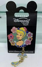 Dlrp Disney Paris Cinderella Royal Princess Dangle Pin with Jewels