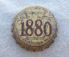 1880 PHILADELPHIA BEER PA TAX CORK BOTTLE CAP - TOUGH CAP