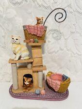 Yankee Candle Hanging Wax Tart Burner Cat Warmer Retired Cat Tree 1300874 Rare