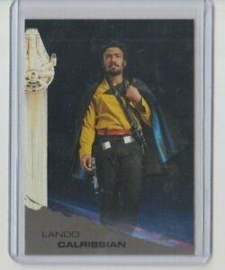 Topps Solo: A Star Wars Story Black Trading Card #3 Lando Calrissian