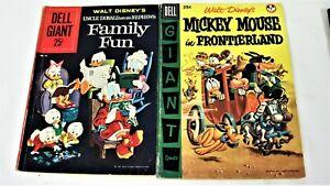 Dell Giant Comics-Walt Disney's Silly Symphonies-4 Book Lot