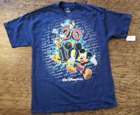 New Walt Disney World Kids T Shirt Size XL Extra Large Mickey Mouse Pluto Goofy