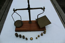 Vintage Post Office Letter Scales and Weights - Excellent Condition