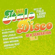 CD Zyx Italo Disco New Generation Vol.1 von Various Artists  2CDs
