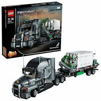 Lego Technic 42078 Mack Anthem LKW Anhänger Truck Container Technik Anleitung