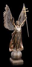 Archange Gabriel Figure avec « Double Cross » - Ange Décoratif Statue