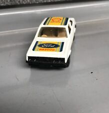 Lesney Matchbox Superfast | No 9 Ford Escort RS2000 | Used | Clear Windows |
