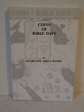 Coins of bible days by florence aiken banks softcover book sanford j. durst