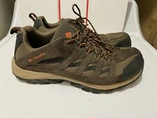 Columbia Crestwood Hiking men's Shoes Size 13 Brown Black