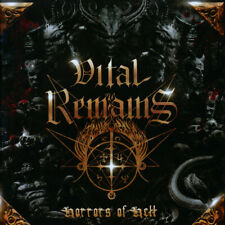 "Vital Remains - Horrors Of Hell LP - 180 Gram Vinyl Record NEW Album + 7"""