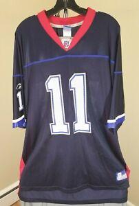 Buffalo Bills NFL Rebook Classic Blue Drew Bledsoe #11 2XL Jersey